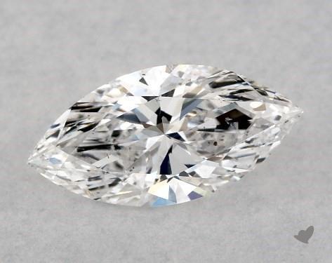 0.50 Carat E-SI1 Marquise Cut Diamond