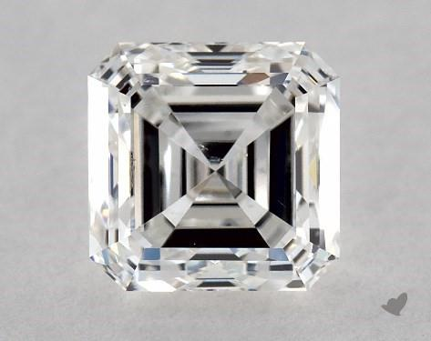 1.01 Carat E-SI1 Asscher Cut Diamond