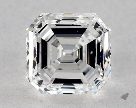 1.01 Carat D-SI1 Emerald Cut Diamond