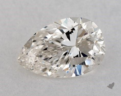 1.01 Carat H-VVS2 Pear Shape Diamond