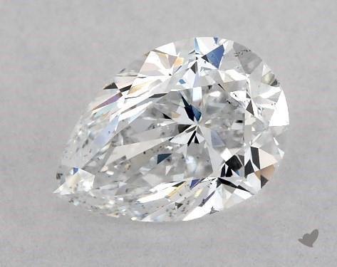 1.02 Carat D-SI1 Pear Shape Diamond