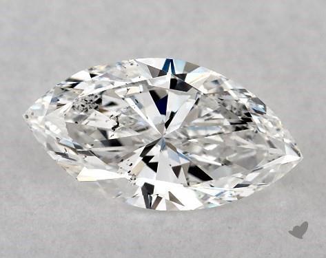 0.50 Carat E-SI2 Marquise Cut Diamond