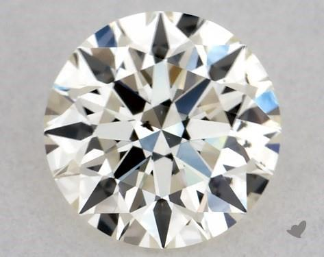 0.37 Carat L-SI1 Excellent Cut Round Diamond