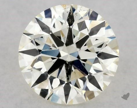 0.36 Carat M-SI1 Excellent Cut Round Diamond