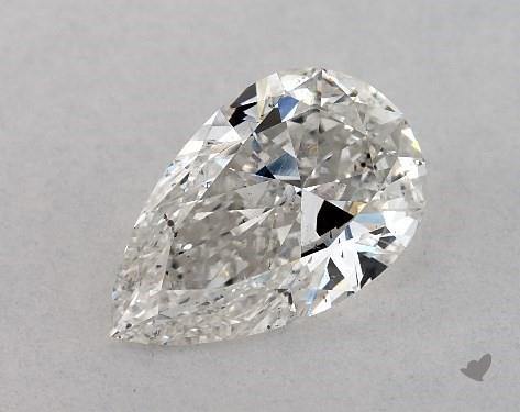 1.03 Carat G-SI1 Pear Shape Diamond