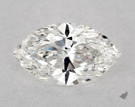 1.00 Carat F-SI1 Marquise Cut Diamond