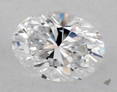 2.12 Carat D-VS1 Oval Cut Diamond