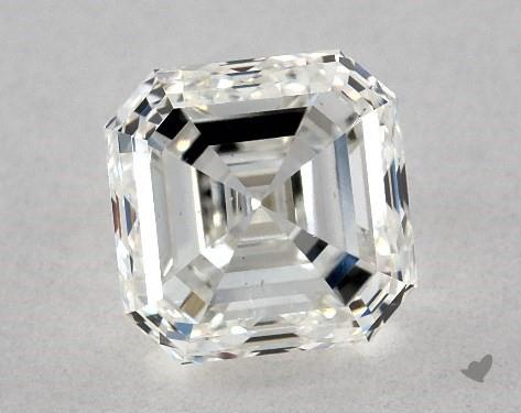 1.03 Carat G-VS2 Square Emerald Cut Diamond