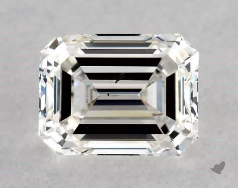 1.00 Carat G-SI1 Emerald Cut Diamond
