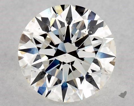 2.08 Carat G-VS2 Excellent Cut Round Diamond