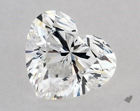 1.02 Carat D-SI1 Heart Shape Diamond