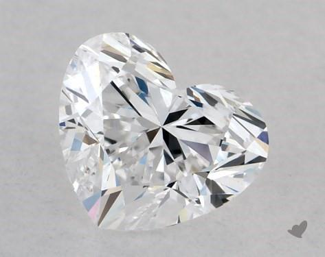 0.46 Carat D-VVS2 Heart Shape Diamond