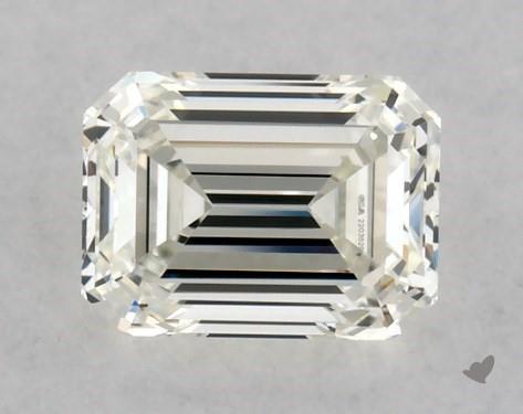 0.51 Carat J-VVS1 Emerald Cut Diamond