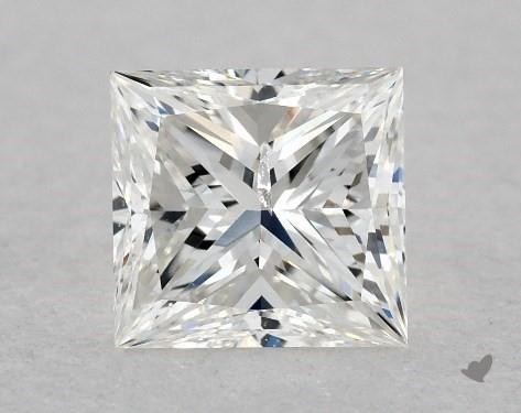 0.52 Carat F-I1 Very Good Cut Princess Diamond