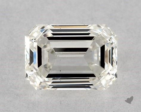<b>0.51</b> Carat I-SI1 Emerald Cut Diamond