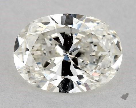 <b>0.50</b> Carat I-SI2 Oval Cut Diamond