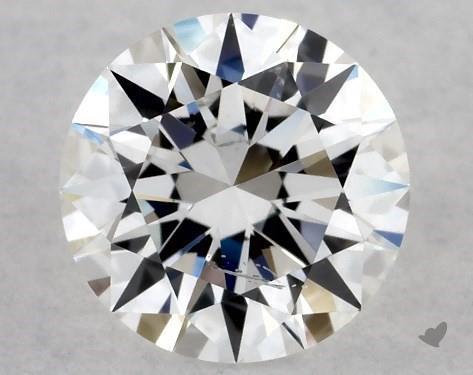 Lab-Created 0.53 Carat F-SI2 Excellent Cut Round Diamond