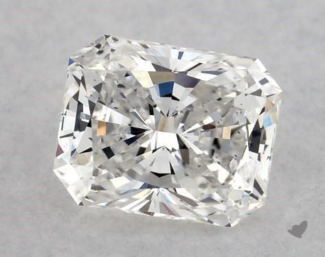 <b>0.51</b> Carat E-SI2 Radiant Cut Diamond