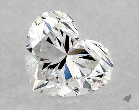0.40 Carat E-VVS2 Heart Shape Diamond