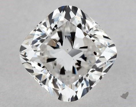 1.02 Carat F-SI1 Cushion Modified Cut Diamond