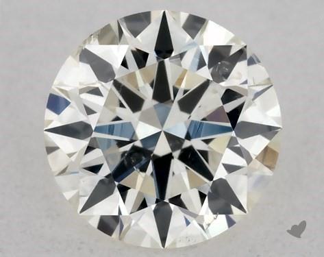 <b>0.36</b> Carat K-SI2 Excellent Cut Round Diamond
