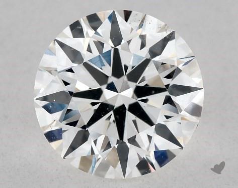 1.08 Carat F-SI1 True Hearts<sup>TM</sup> Ideal Diamond