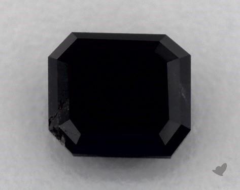 3.38 Carat FANCY  Black Emerald Cut Diamond