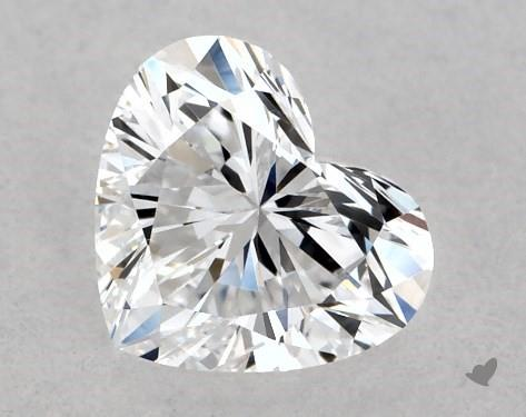 0.42 Carat D-VVS2 Heart Shape Diamond
