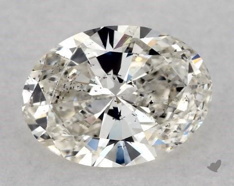 <b>0.50</b> Carat J-SI2 Oval Cut Diamond