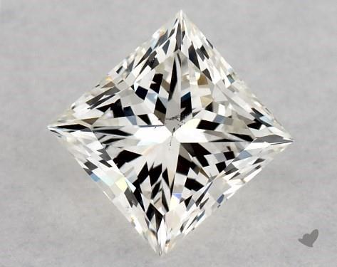 0.50 Carat J-SI1 Very Good Cut Princess Diamond