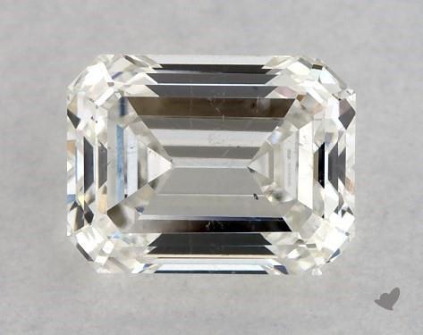 0.53 Carat I-SI1 Emerald Cut Diamond