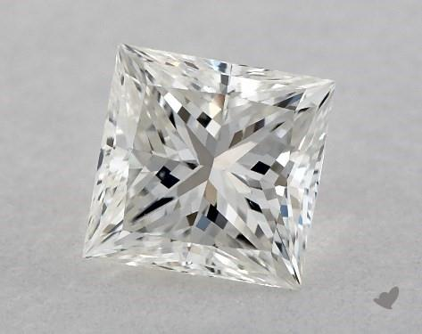 0.41 Carat H-VS1 Very Good Cut Princess Diamond