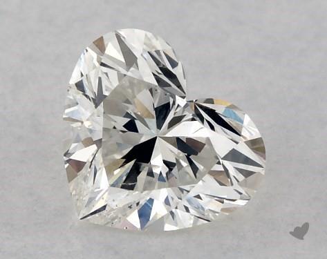 0.51 Carat H-SI2 Heart Shape Diamond