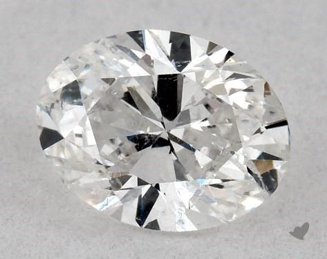 0.46 Carat E-I1 Oval Cut Diamond