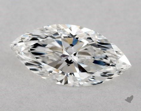0.51 Carat E-SI1 Marquise Cut Diamond