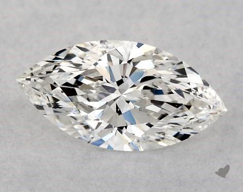 0.50 Carat F-SI1 Marquise Cut Diamond