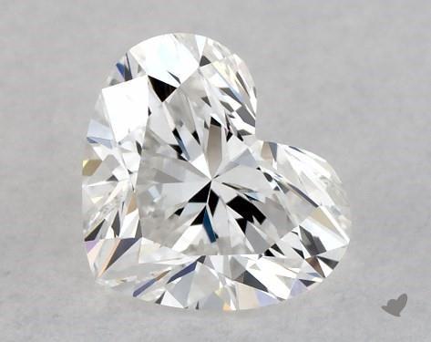 0.40 Carat E-VVS2 Heart Shape Diamond