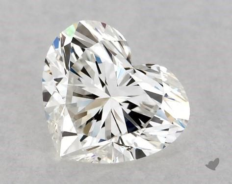 <b>0.40</b> Carat G-VVS1 Heart Cut Diamond