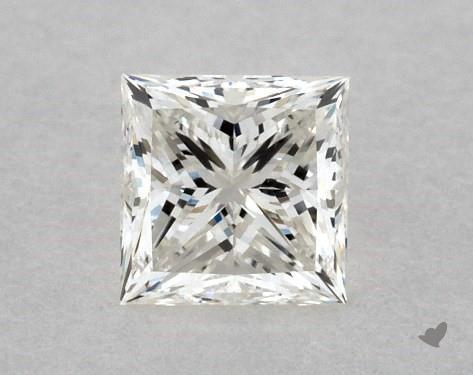 0.41 Carat I-VVS2 Ideal Cut Princess Diamond