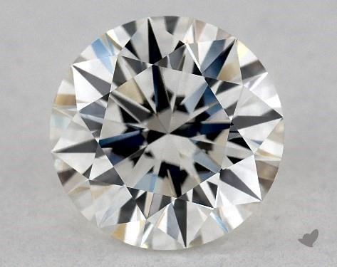 1.24 Carat H-VS1 Excellent Cut Round Diamond