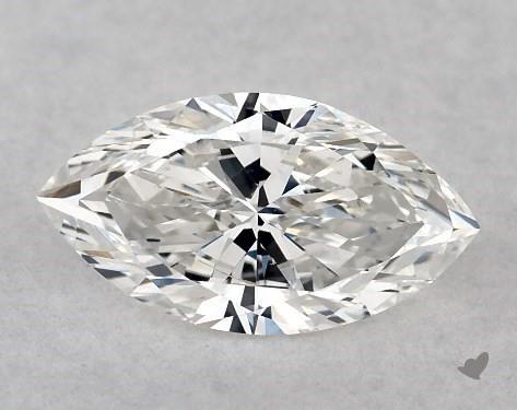 0.51 Carat F-SI2 Marquise Cut Diamond