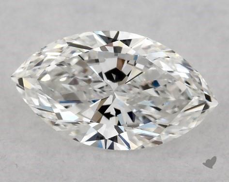 <b>0.51</b> Carat E-SI1 Marquise Cut Diamond