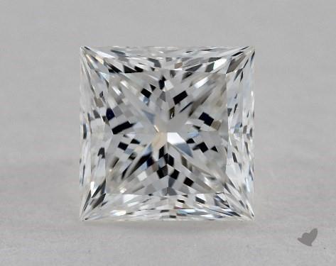 1.04 Carat F-VS2 Ideal Cut Princess Diamond