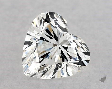 1.00 Carat D-SI1 Heart Shape Diamond
