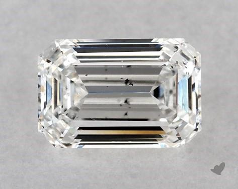 1.02 Carat E-SI1 Emerald Cut Diamond
