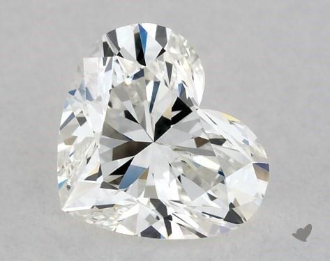 0.43 Carat G-VS2 Heart Shape Diamond