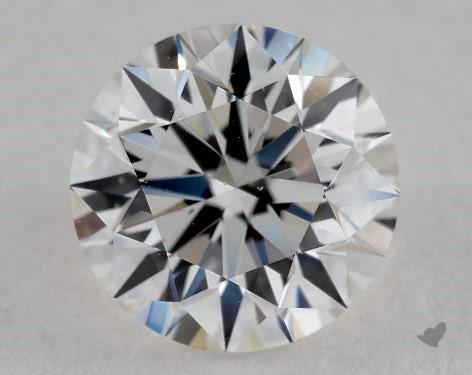 0.90 Carat I-VS1 Very Good Cut Round Diamond