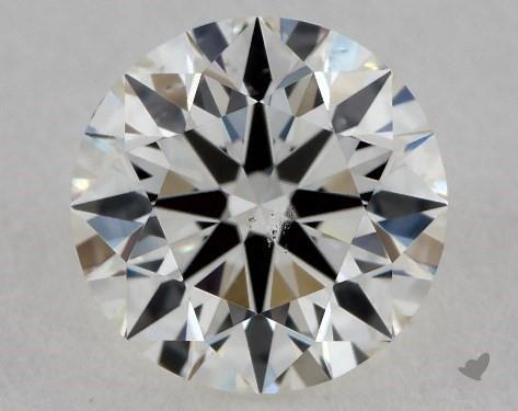 0.70 Carat I-SI1 True Hearts<sup>TM</sup> Ideal Diamond