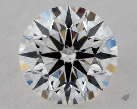 0.73 Carat H-SI1 True Hearts<sup>TM</sup> Ideal Diamond