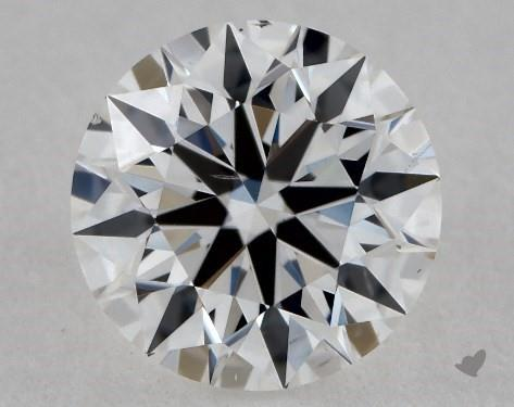 0.71 Carat F-VS2 True Hearts<sup>TM</sup> Ideal Diamond
